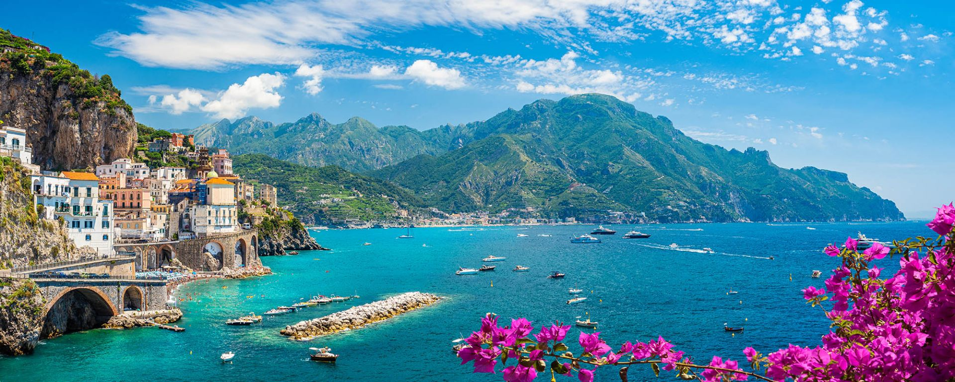 Amalfi Coast Walking Tour Header