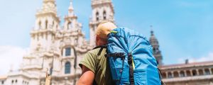 French Way Walking Tour Group Departure Header