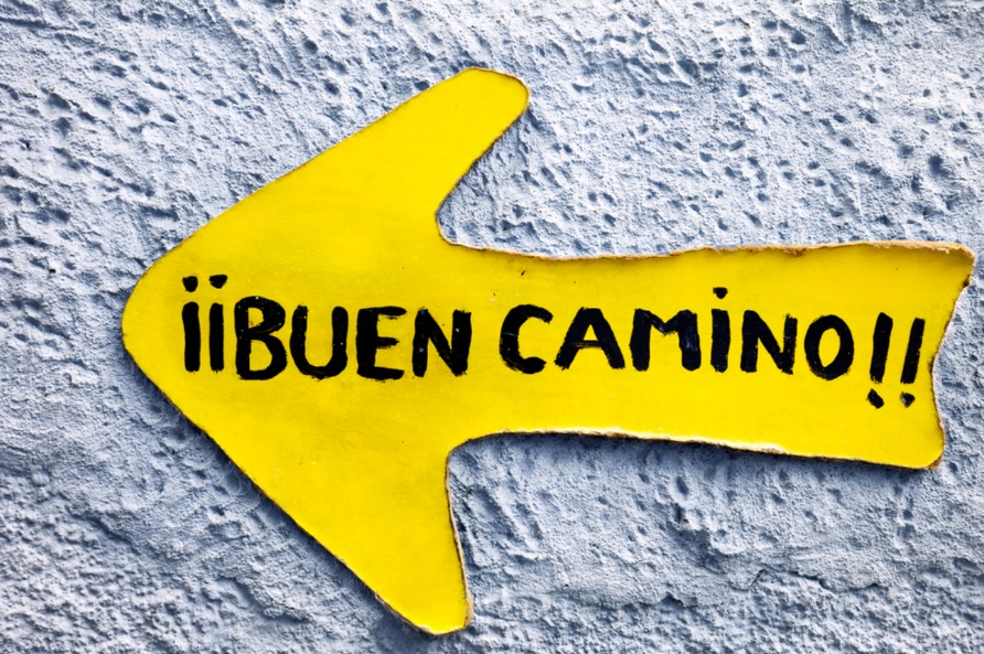 Buen Camino Greeting Uwalk.ie