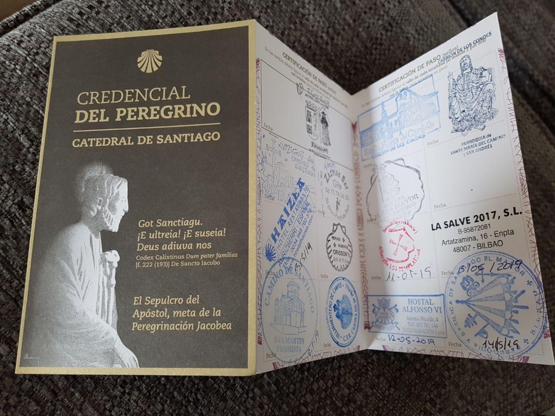 Pilgrim passport Camino Uwalk.ie